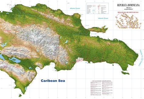 mapa de republica dominicana rep 250 blica dominicana mapa pol 237 tico