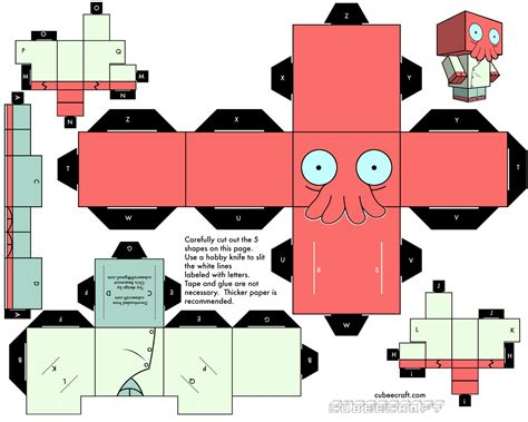 Paper Craft - papercraft y cubeecraft para armar