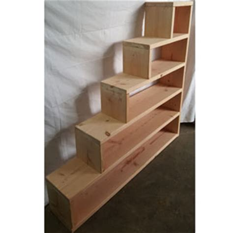 how to make a bunk bed with stairs custom made stairs for loft of bunk bed solid wood custom