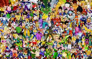 characters dragon ball collage artmaker1936