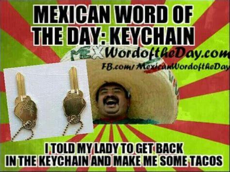 Funny Memes Of The Day - mexican word of the day juan or two puns pinterest