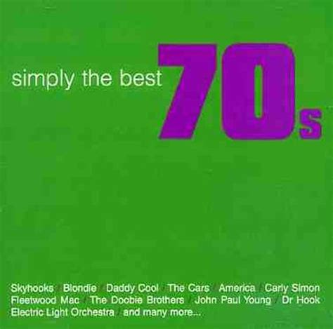 best of simply simply the best 70 s album various artists songs