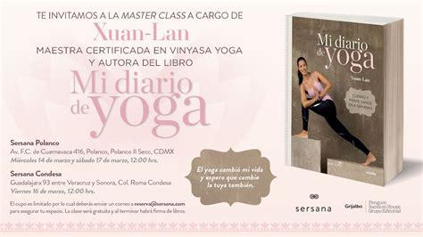 libro mi diario de yoga agenda en ciudad de m 233 xico xuan lan yoga