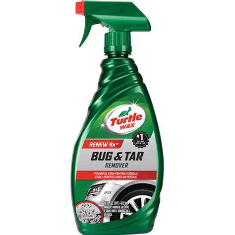 Tar And Bug Remover turtle wax bug and tar remover 16oz walmart