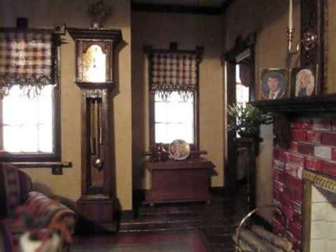 9 room dollhouse rgt newport dollhouse family room dining room tour