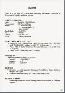 format of biodata for job pdf