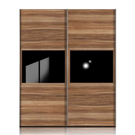 nachtschrank nussbaum schwarz schwebet 252 renschrank trio nussbaum dekor mit glas schwarz