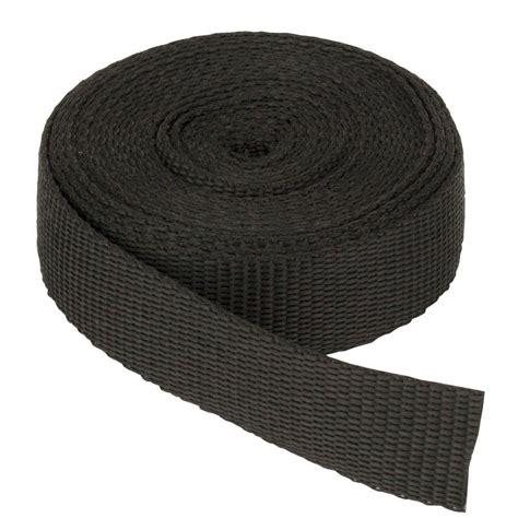 Tas Webe Lop everbilt 1 in black webbing 810146 the home depot