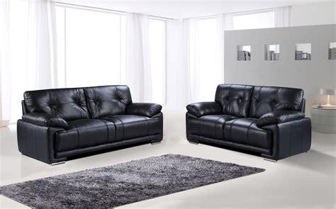 3 seater sofa and 2 seater sofa plaza 3 seater and 2 seater sofa black we do sofas