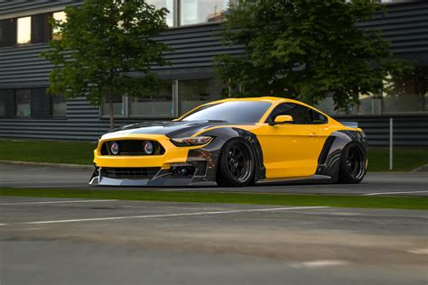 widebody mustang ford mustang widebody kit s550 wide body kit by clinched