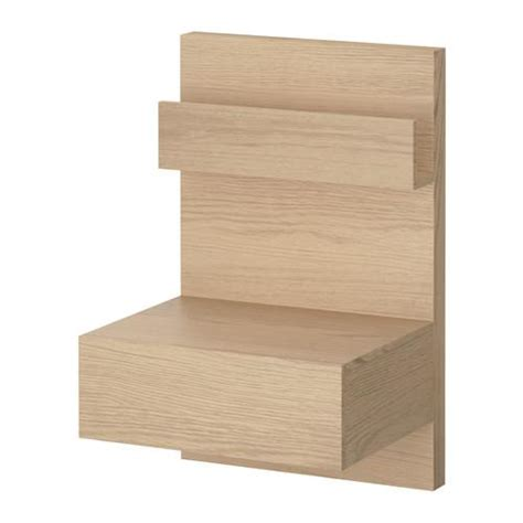 malm bookshelf nib ikea malm night stand birch veneer open shelf drawer