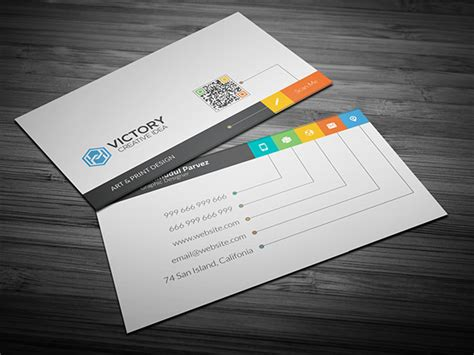 free i creative business card on behance