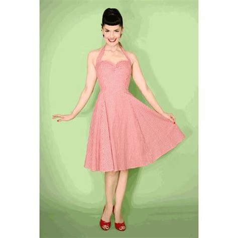 So down home charming and simple the perfect rockabilly day dress