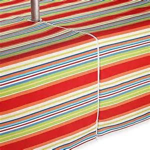 buy mystic stripe 60 inch x 84 inch umbrella tablecloth