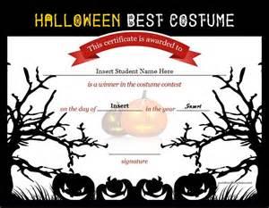 costume certificate template best costume certificate templates word