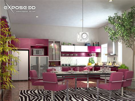 wallpapers background interior decoration of kitchen
