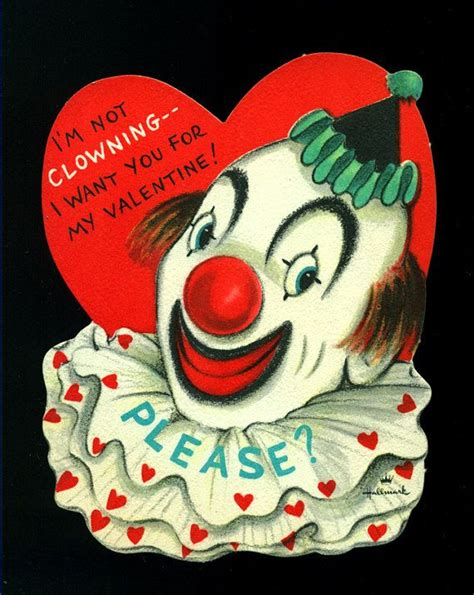 creepy valentines day cards 111 best images about clowns tammy clown on