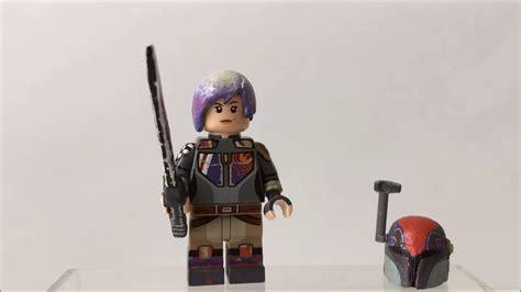 Lego Sabine Wren Wars Bootleg lego wars custom sabine wren showcase