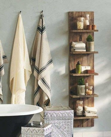 bathroom storage solutions cheap 20 reclaimed wood ideas messagenote