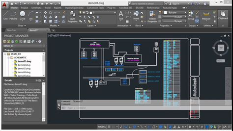 tutorial guide to autocad 2015 autocad electrical 2015 tutorial command line youtube