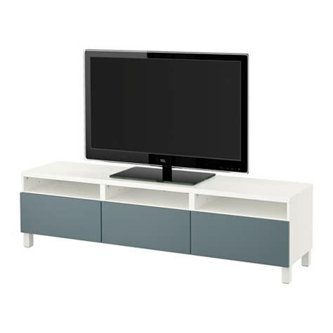 ikea besta tv best 197 tv unit with drawers white valviken gray turquoise