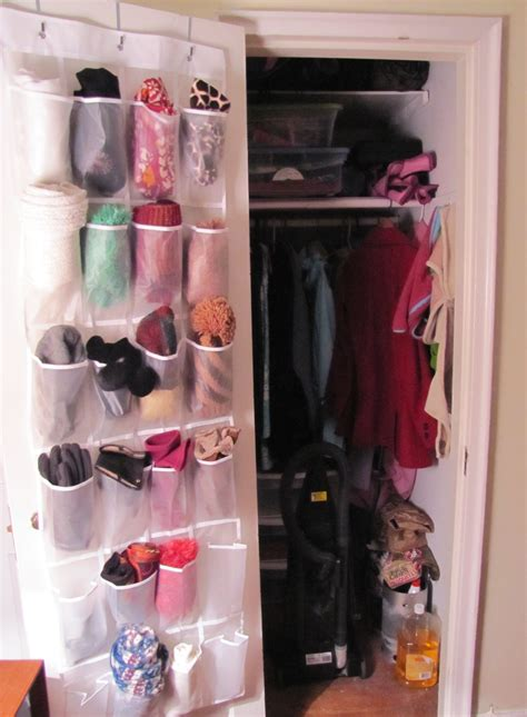 Scarf Drawer Organizer by Winter Accessory Storage The Borrowed Abode