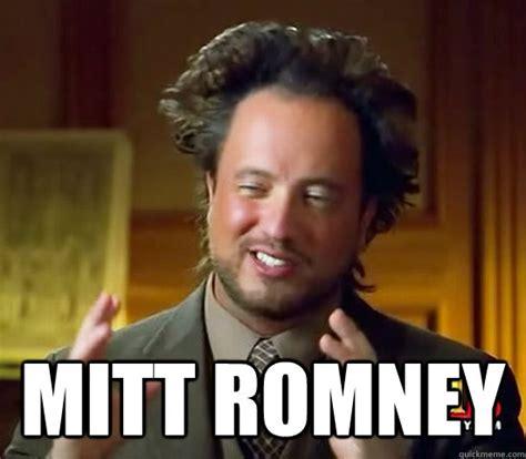 Josh Romney Meme - mitt romney ancient aliens quickmeme