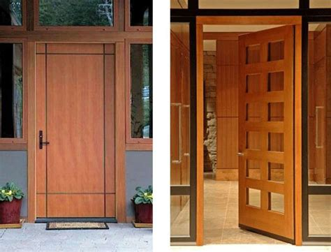 contemporary door designs home design ideas