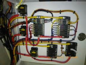 console rewire complete updated pic heavy the hull boating and fishing forum