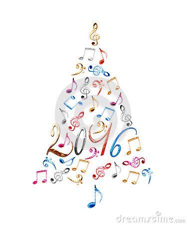 imagenes navidad musical 225 rbol de navidad 2016 con las notas musicales del metal