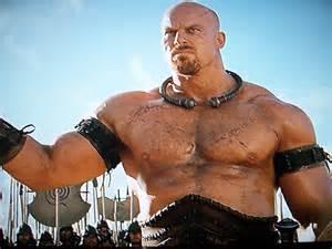 mountain scene tattoo the gladiatorial blog aussie wrestler nathan jones as boagrius in troy