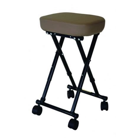 Pisces Table by Pisces Folding Rolling Stool