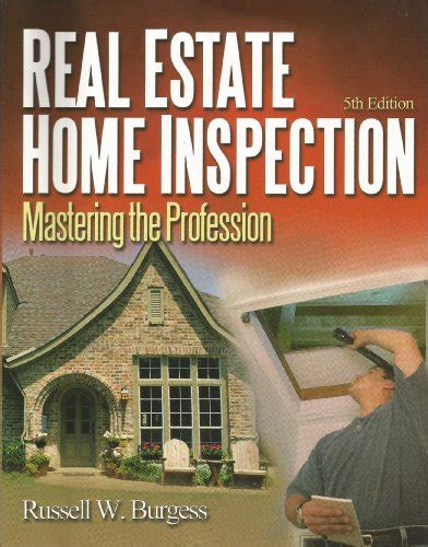 read real estate home inspection mastering the