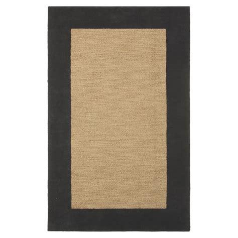 pbteen rugs classic wool border rug graphite pbteen