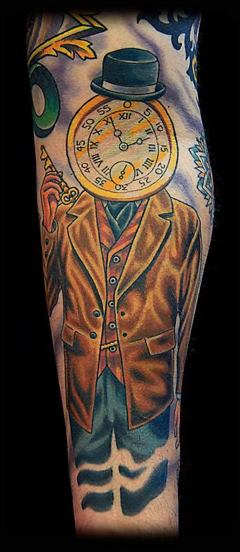 visions tattoo gallery gate and time keeper by canman tattoos