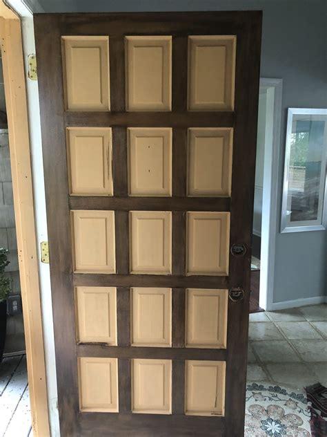 diy front door makeover  gel stain   stain