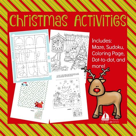 printable christmas activity pack free printable christmas activity pack