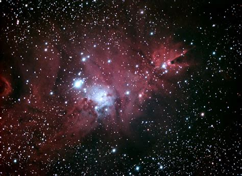 astrophotography of nebulae ngc 2264 christmas tree