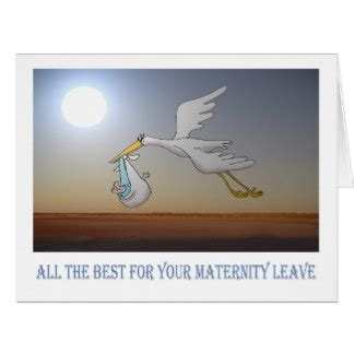 Maternity Leave Card Template by Maternity Leave Cards Invitations Zazzle Co Uk