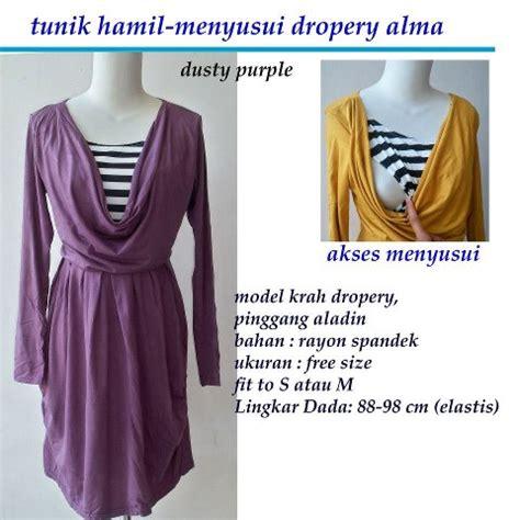 Tunik Rabia Baju Menyusui Nuratina Griya Dzibila Olshop Fashion For And Baju