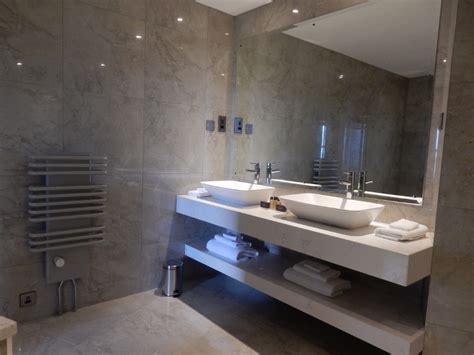 executive bathroom luxury hotel bathroom design slieve donard hotel
