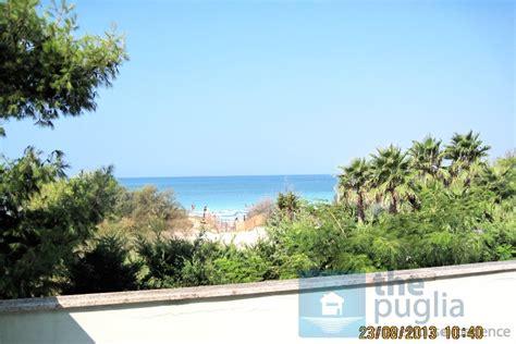 casa sulla spiaggia salento villa vista mare sulla spiaggia di torre lapillo in