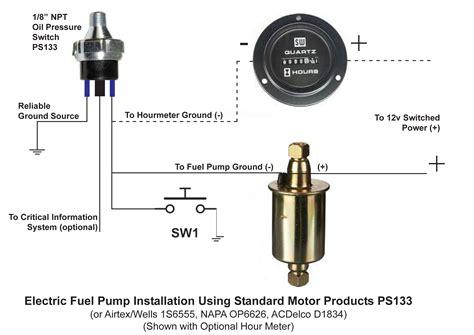 pressure safety switch wiring pressure switch