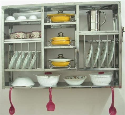 Rak Piring Kecil Tertutup contoh model rak piring untuk dapur minimalis renovasi