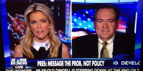 megyn kelly introduces mike huckabee with an f bomb fox news presenter megyn kelly drops the f bomb says f