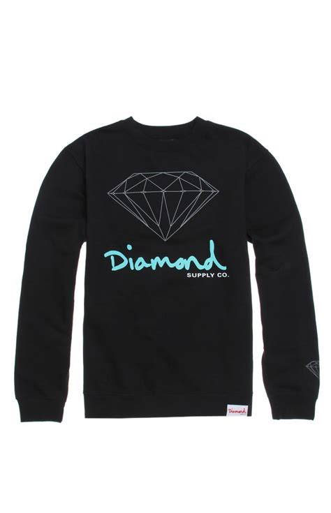diamond supply co mill tee at pacsun com from pacsun tops diamond supply co hd script logo crew fleece at pacsun com