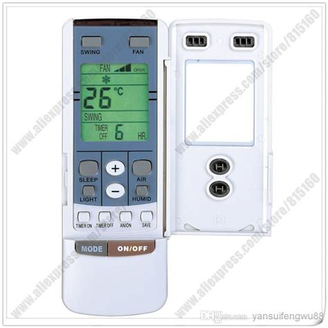 comfort star air conditioner remote control replacement for comfortstar gree split portable air