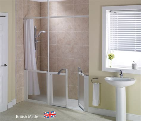 Low Access Shower Trays by Walk In Showers Adaptations Mobility