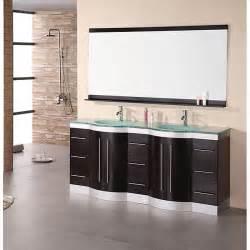 48 Inch Bathroom Vanities by Design Element Supreme Modern Double Sink Bathroom Vanity