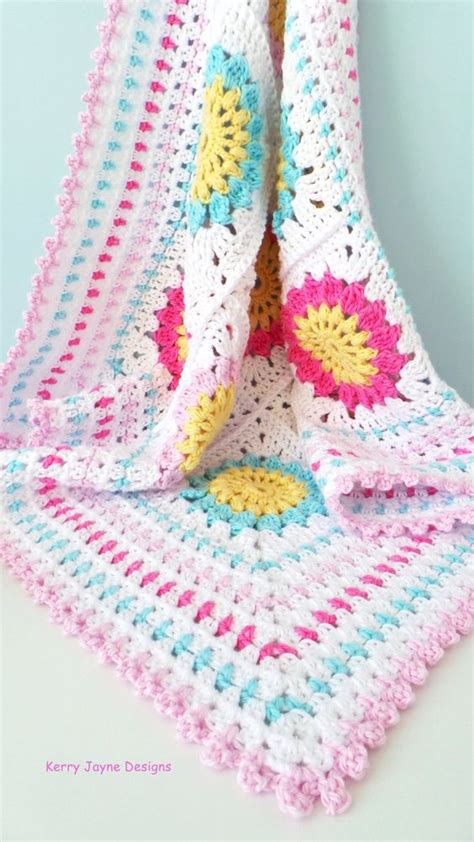 crochet pattern x s and o s granny square baby blanket pattern cotton yarn blanket